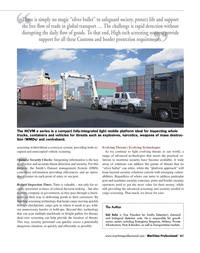 Maritime Logistics Professional Magazine, page 61,  Q2 2012