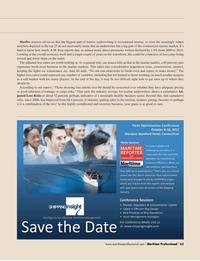 Maritime Logistics Professional Magazine, page 63,  Q2 2012