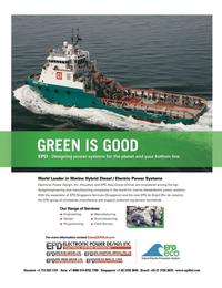 Maritime Logistics Professional Magazine, page 3rd Cover,  Q2 2012