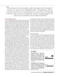 Maritime Logistics Professional Magazine, page 13,  Q3 2012