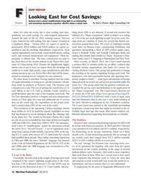 Maritime Logistics Professional Magazine, page 16,  Q3 2012