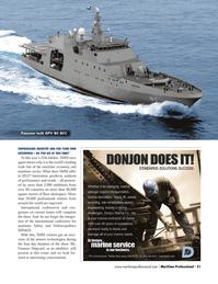 Maritime Logistics Professional Magazine, page 21,  Q3 2012