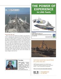 Maritime Logistics Professional Magazine, page 25,  Q3 2012