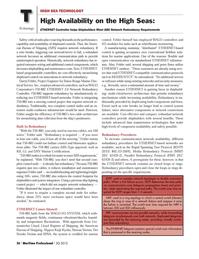 Maritime Logistics Professional Magazine, page 26,  Q3 2012