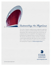 Maritime Logistics Professional Magazine, page 1,  Q3 2012