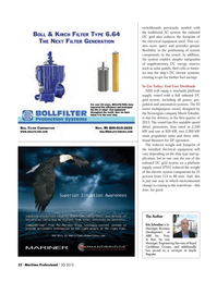Maritime Logistics Professional Magazine, page 32,  Q3 2012 installed electrical equipment