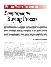 Maritime Logistics Professional Magazine, page 33,  Q3 2012