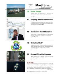 Maritime Logistics Professional Magazine, page 2,  Q3 2012