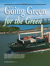 Maritime Logistics Professional Magazine, page 38,  Q3 2012