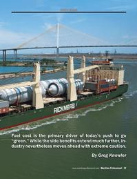 Maritime Logistics Professional Magazine, page 39,  Q3 2012