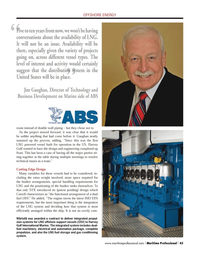 Maritime Logistics Professional Magazine, page 45,  Q3 2012