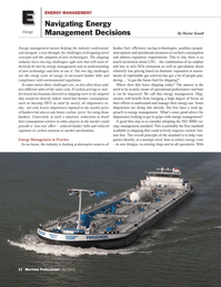 Maritime Logistics Professional Magazine, page 52,  Q3 2012