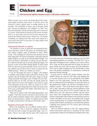 Maritime Logistics Professional Magazine, page 54,  Q3 2012