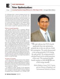 Maritime Logistics Professional Magazine, page 56,  Q3 2012