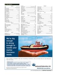 Maritime Logistics Professional Magazine, page 7,  Q3 2012