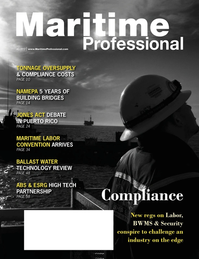 Maritime Logistics Professional Magazine Cover Q4 2012 - The Environment: Stewardship & Compliance