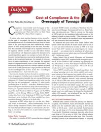 Maritime Logistics Professional Magazine, page 10,  Q4 2012