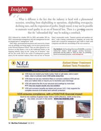 Maritime Logistics Professional Magazine, page 16,  Q4 2012