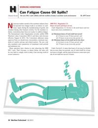 Maritime Logistics Professional Magazine, page 20,  Q4 2012