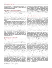 Maritime Logistics Professional Magazine, page 30,  Q4 2012