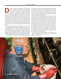 Maritime Logistics Professional Magazine, page 36,  Q4 2012