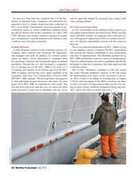 Maritime Logistics Professional Magazine, page 40,  Q4 2012