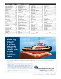 Maritime Logistics Professional Magazine, page 9,  Q1 2013 Todd Paci