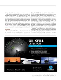 Maritime Logistics Professional Magazine, page 13,  Q1 2013 Norwegian Cruise Line Holdings