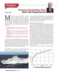 Maritime Logistics Professional Magazine, page 16,  Q1 2013 ??Requirements Trade