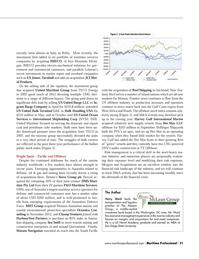 Maritime Logistics Professional Magazine, page 21,  Q1 2013 Ward