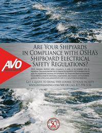 Maritime Logistics Professional Magazine, page 1,  Q1 2013
