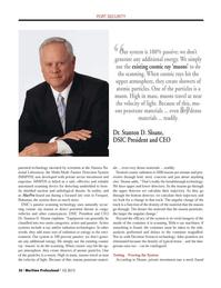 Maritime Logistics Professional Magazine, page 36,  Q1 2013 steel
