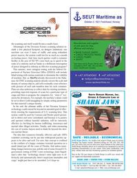 Maritime Logistics Professional Magazine, page 39,  Q1 2013 Janet Napoli