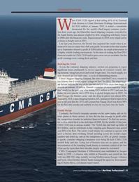 Maritime Logistics Professional Magazine, page 41,  Q1 2013 Retail spending