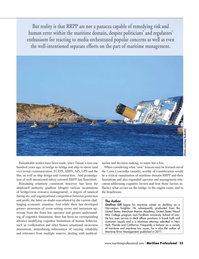 Maritime Logistics Professional Magazine, page 55,  Q1 2013 California