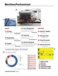 Maritime Logistics Professional Magazine, page 4,  Q1 2013 Anthony Chiarello