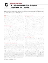 Maritime Logistics Professional Magazine, page 58,  Q1 2013 spot device