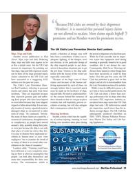 Maritime Logistics Professional Magazine, page 59,  Q1 2013 U.K. Club
