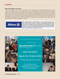 Maritime Logistics Professional Magazine, page 62,  Q1 2013