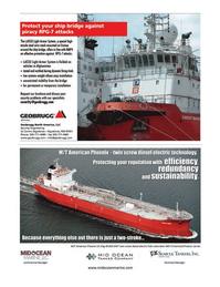 Maritime Logistics Professional Magazine, page 7,  Q1 2013