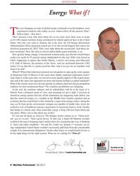 Maritime Logistics Professional Magazine, page 8,  Q2 2013