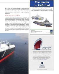 Maritime Logistics Professional Magazine, page 15,  Q2 2013