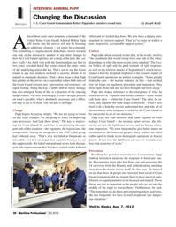 Maritime Logistics Professional Magazine, page 20,  Q2 2013