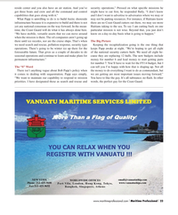 Maritime Logistics Professional Magazine, page 23,  Q2 2013