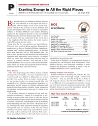 Maritime Logistics Professional Magazine, page 24,  Q2 2013