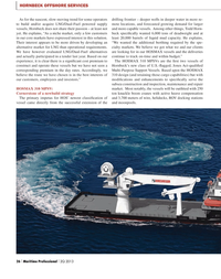 Maritime Logistics Professional Magazine, page 26,  Q2 2013