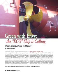 Maritime Logistics Professional Magazine, page 30,  Q2 2013