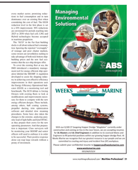 Maritime Logistics Professional Magazine, page 31,  Q2 2013