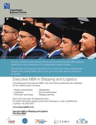 Maritime Logistics Professional Magazine, page 35,  Q2 2013