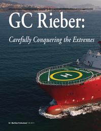 Maritime Logistics Professional Magazine, page 36,  Q2 2013